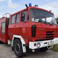 Przekazanie i poświęcenie nowego samochodu ratowniczo-gaśniczego dla OSP w Jamach