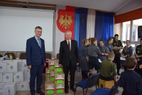 17 Akcja Polacy - Rodakom - przekazanie paczek